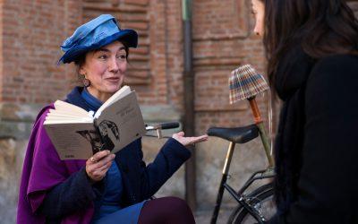 Salone del Libro: Chiara Trevisan, la lettrice vis-à-vis, allo stand di Miraggi
