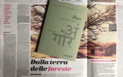 """Brace"": l'intervista di Daniela Bezzi a Jacinta Kerketta su il manifesto"