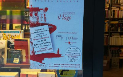 """MIRAGGI di LIBRAI, Carlo Borgogno della Libreria Milton di Alba presenta """"Il Lago"""""""