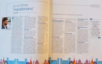Claudio Marinaccio: l'intervista di Guido Barosio su Torino Magazine