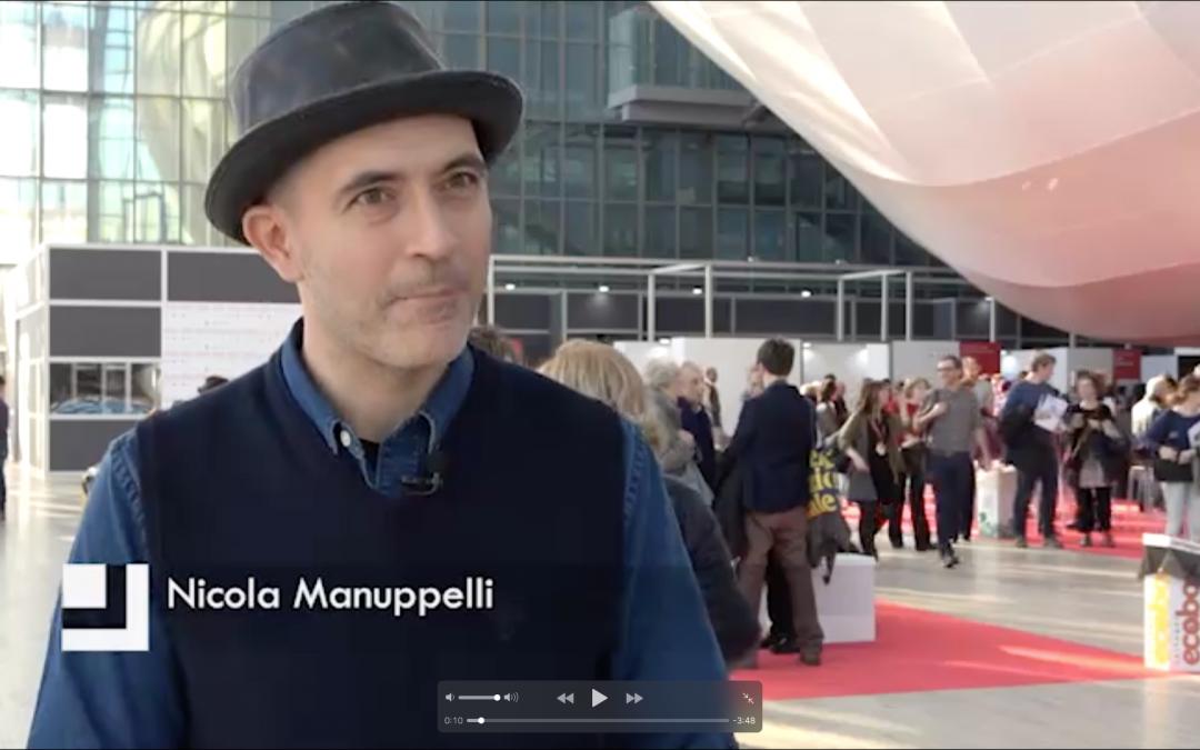 RAI Cutura – Letteratura intervista Nicola Manuppelli
