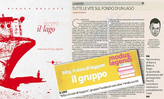 Tutte le vite sul fondo di un lago – Il Lago: Recensione di Angelo Di Liberto su La Repubblica