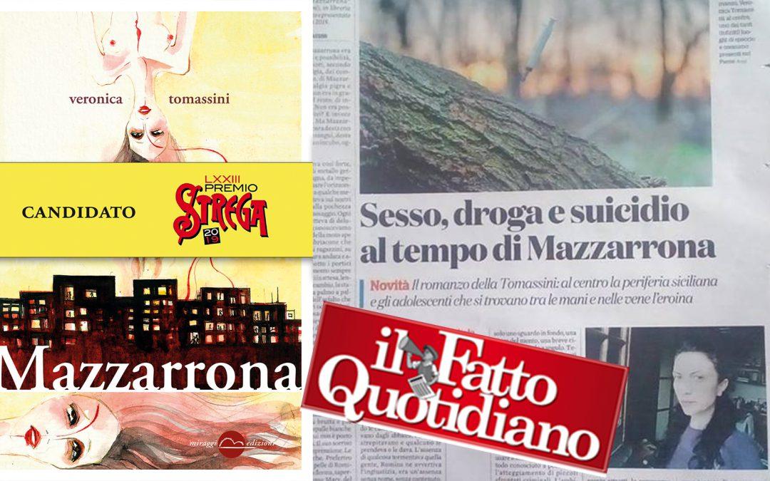 Il romanzo della Tomassini: al centro la periferia siciliana e gli adolescenti che si trovano tra le mani e nelle vene l'eroina – su Il Fatto Quotidiano