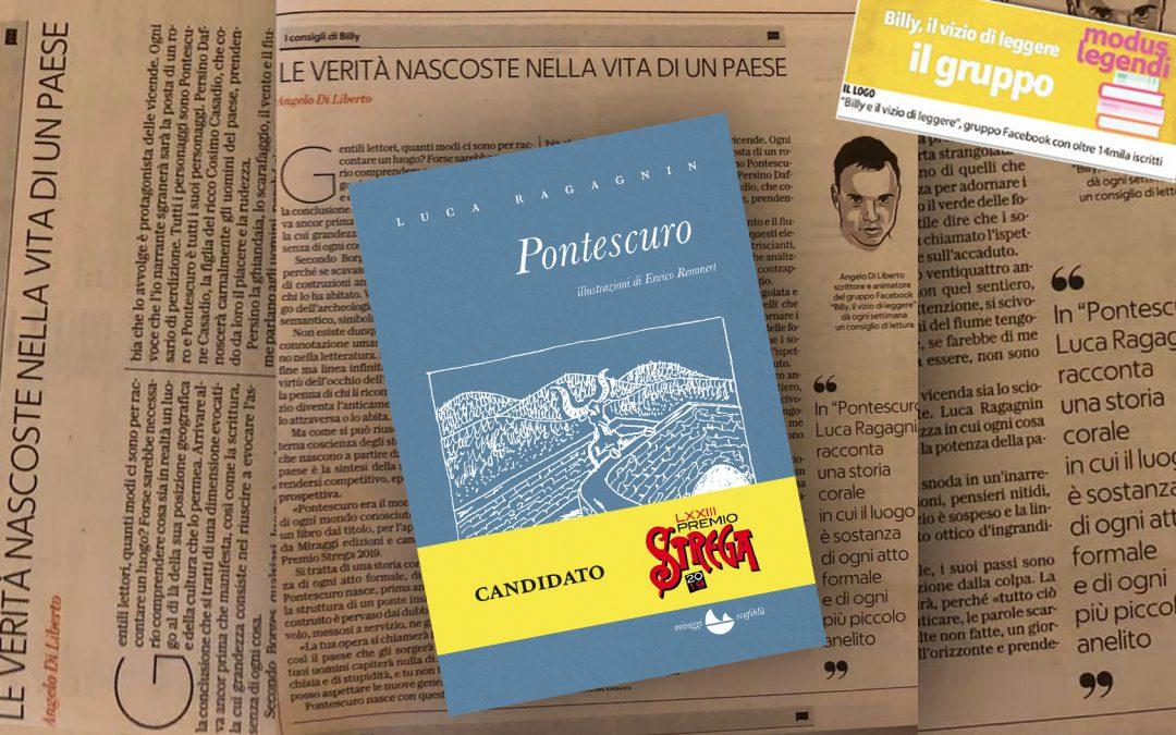 Pontescuro – Le verità nascoste nella vita di un paese – di Angelo Di Liberto su La Repubblica Palermo