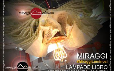 Uniche… le LAMPADE LIBRO di Miraggi