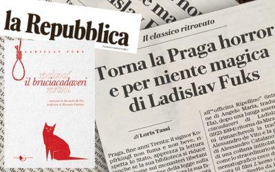 Il classico ritrovato – Torna la Praga horror e per niente Magica di Ladislav Fuks – di Loris Tassi su La Repubblica