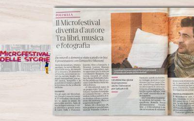LORENZO MAZZONI ospite a Polesella per il Microfestival