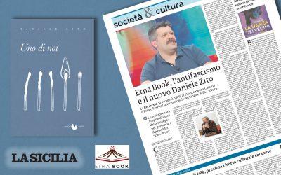 """Daniele Zito, ospite d'onore a Etna Book con """"UNO DI NOI"""""""