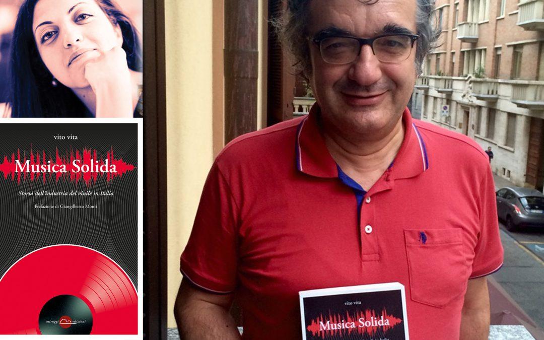 """Natalia Ceravolo intervista Vito Vita e il suo gigantesco capolavoro sulla storia del Vinile """"Musica Solida"""""""