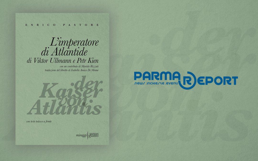 L'imperatore di Atlantide – recensione di Giovanna Triolo su ParmaReport