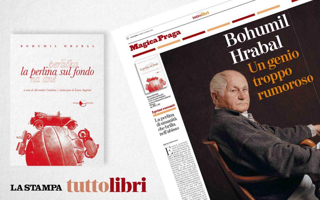 LA PERLINA SUL FONDO – recensione di Bruno Ventavoli su Tuttolibri