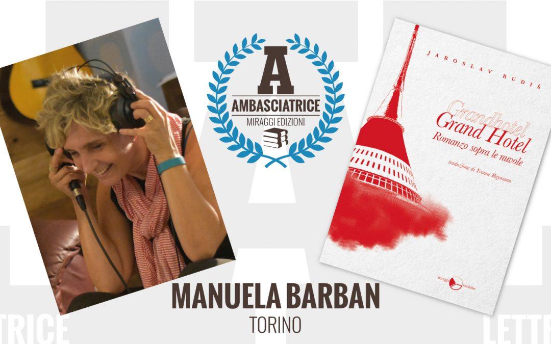 Manuela Barban – Ambasciatrice Lettrice Miraggi legge GRAND HOTEL – ROMANZO SOPRA LE NUVOLE di Jaroslav Rudiš