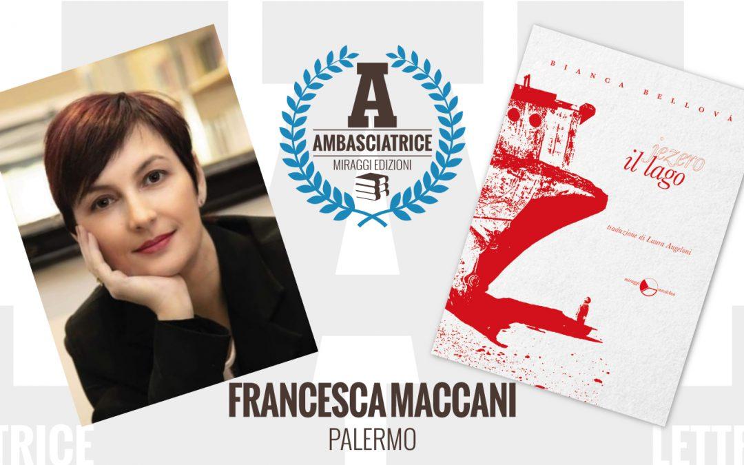 Francesca Maccani – Ambasciatrice Miraggi legge IL LAGO di Bianca Bellová
