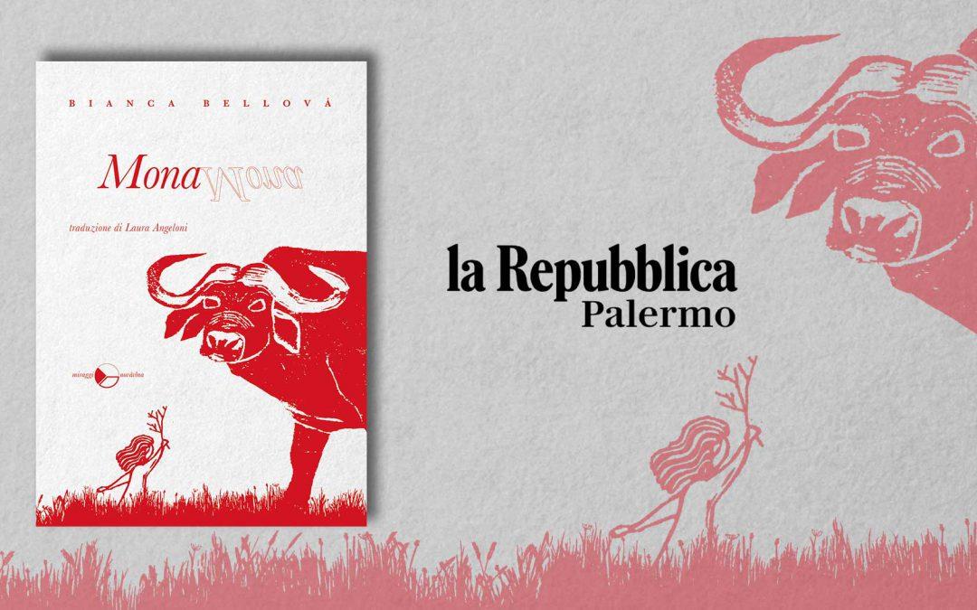 MONA – recensione di Angelo Di Liberto su La Repubblica