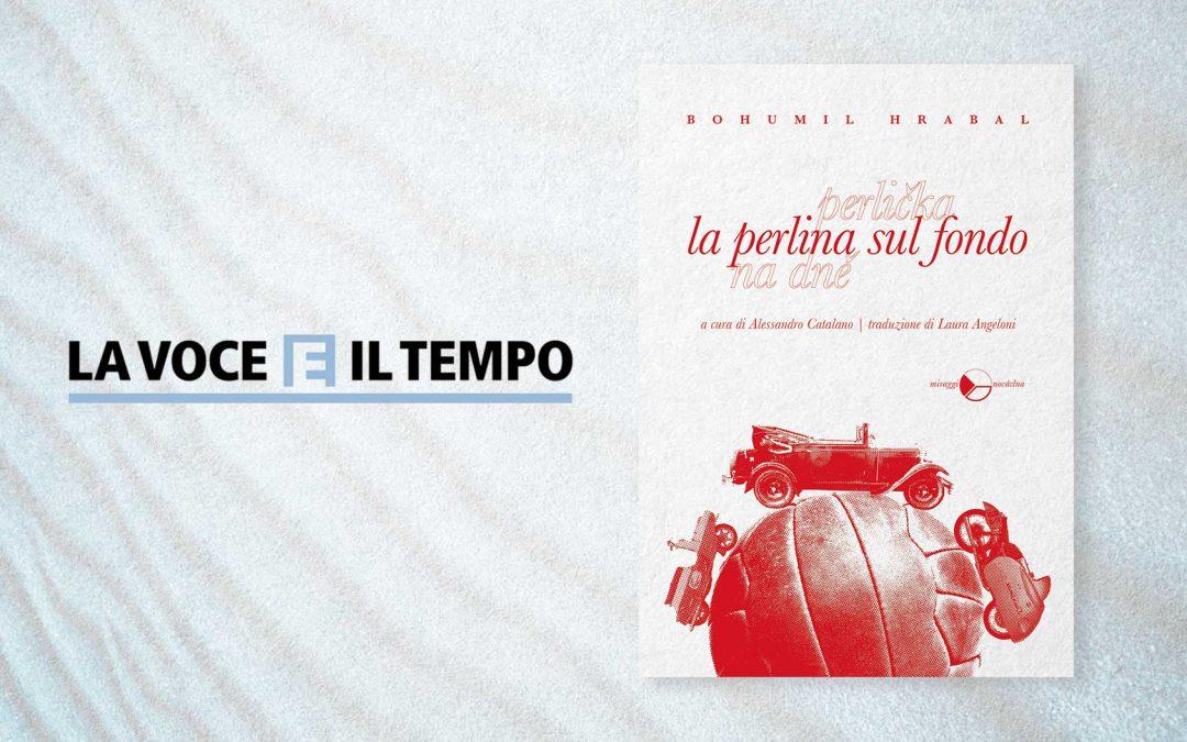 LA PERLINA SUL FONDO – recensione di Massimo Romano su LA VOCE E IL TEMPO