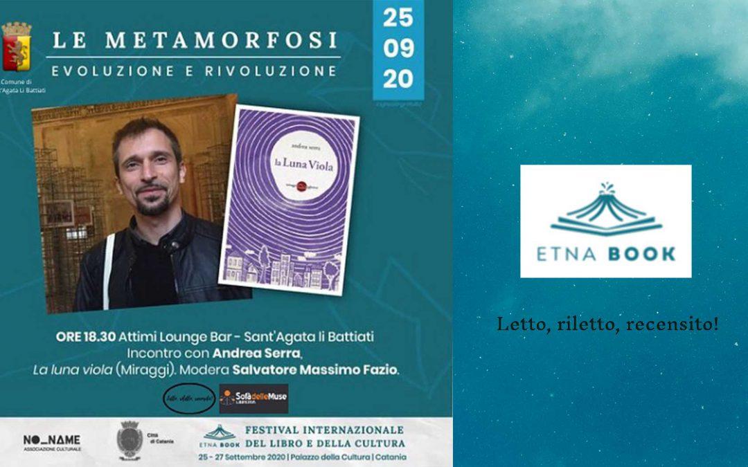 ANDREA SERRA ospite a Etnabook, Festival Internazionale del libro e della Cultura