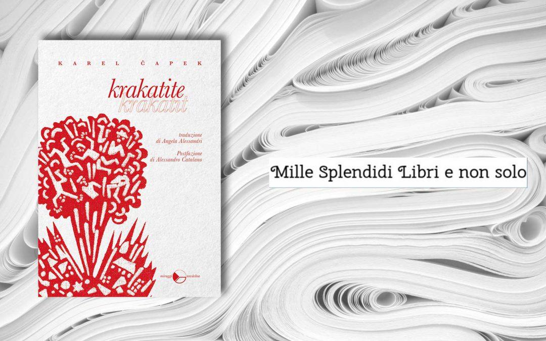 KRAKATITE – recensione di Loredana Cilento su Mille Splendidi Libri e non solo