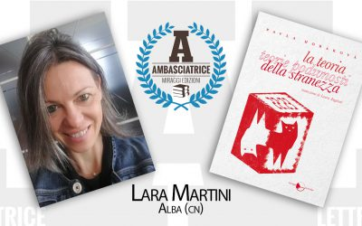 Lara Martini (lettrice ambasciatrice Miraggi) e la sua lettura di La Teoria Della Stranezza – Collana #NováVlna