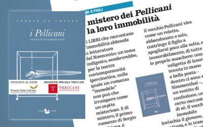 I Pellicani – recensione di Gennaro Serio su Il Venerdì di Repubblica