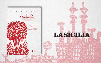 Krakatite – recensione di Lorenzo Marotta su La Sicilia