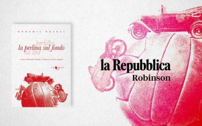 La perlina sul fondo – recensione su La Repubblica, Robinson Libri