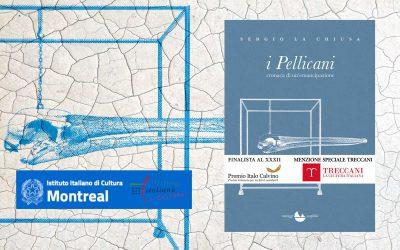 I Pellicani – recensione di Demetrio Paolin su Istituto italiano di Cultura Montreal