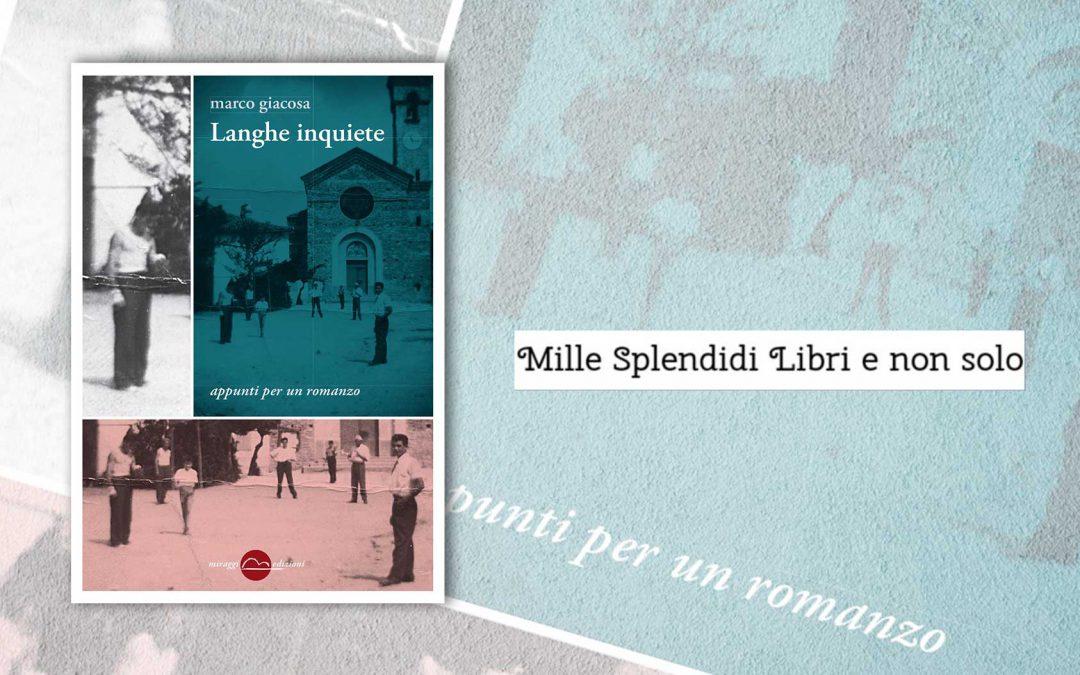 Langhe inquiete – recensione di Loredana Cilento su Mille Splendidi Libri e non solo