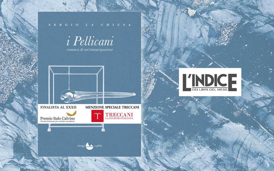 I Pellicani – recensione di Giuseppe Lupo su L'Indice
