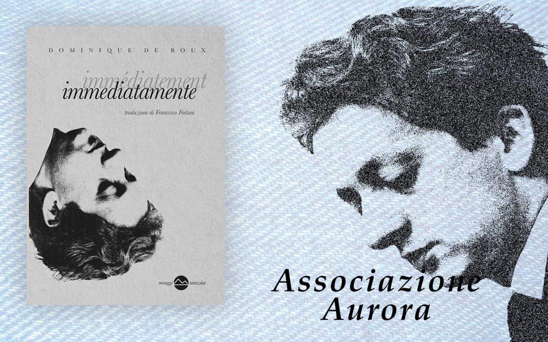 Immediatamente – recensione di Francesco Subiaco