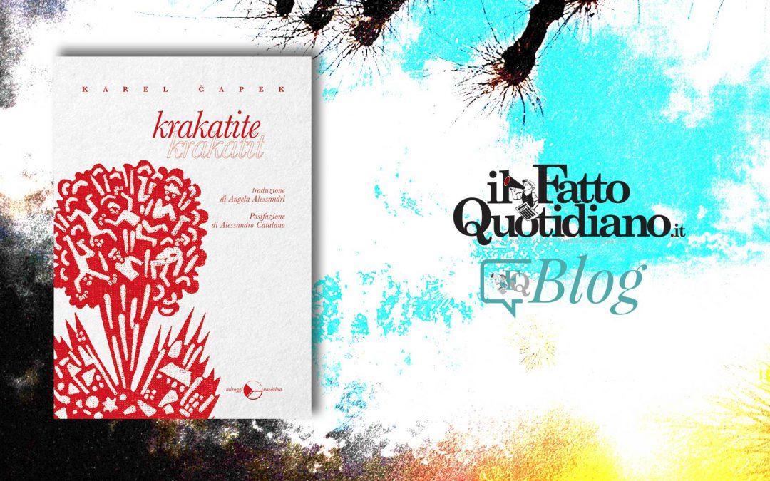 Krakatite – segnalazione di Lorenzo Mazzoni su Il Fatto quotidiano