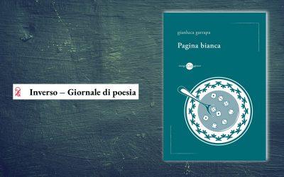 Pagina bianca – selezione di alcune poesie uscita su Inverso – Giornale di poesia (a cura di Giovanna Frene)